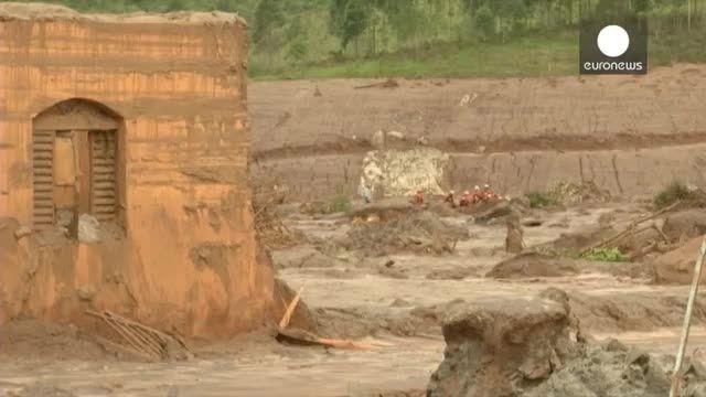 شکسته شدن سدهای یک معدن در برزیل تلفات زیادی برجای گذاش