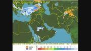 بارش 9 تا 16 آذر 93 (هواشناسی چهارفصلwww.hava4.ir)
