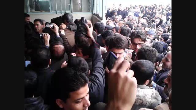 مراسم ترحیم مادر دکتر احمدی نژاد در قم 5