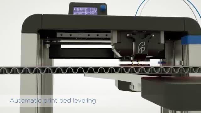ارائه آخرین مدل پرینتر سه بعدی شرکت Felix