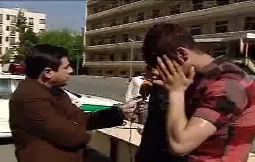 فیلم منتشر شده از دستگیری ۱۰۰ نفر از اراذل و اوباش در ت