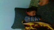 اذیت کودک در خواب.
