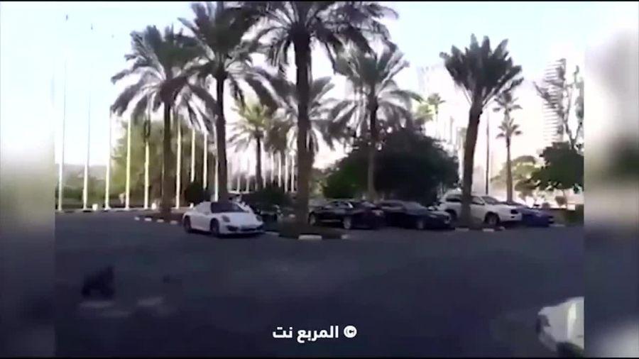 داغون کردن Rolls Royce و مرسدس ML توسط عرب دیوانه!