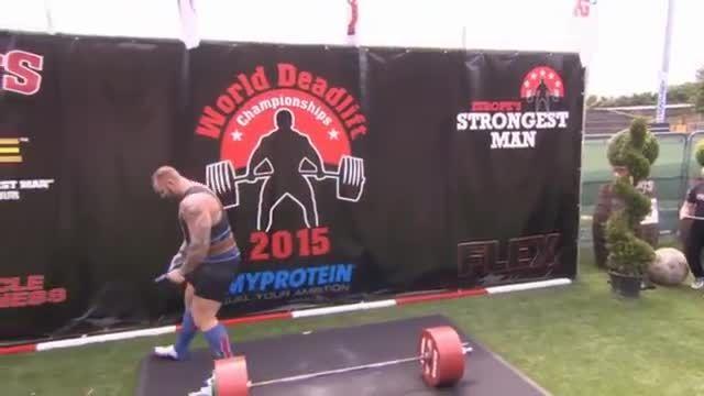 قویترین مردان بلندکردن وزنه 450 کیلویی