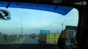 جاده امامزاده هاشم با ولوو