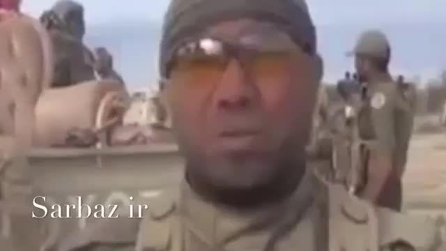 سرباز اهل سنت عراقی قاتل داعشی ها - سوریه