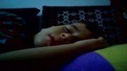 اذیت کردن آرشام کوچولو در خواب
