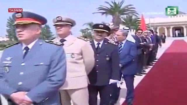 خشم مردم مغرب از نحوه استقبال از شاه سعودی