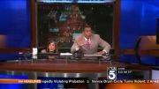 ترسیدن مجریهای خبر از زلزله در پخش زنده تلویزیونی.......