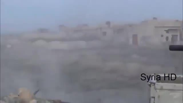 عملیات ارتش سوریه در آزادسازی شهر میدعا در غوطه شرقی