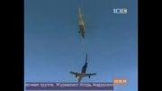 بلند کردن هواپیما توسط هلیکوپتر Mi-26 روسیه !!!!!