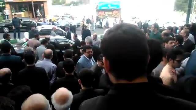 مراسم ترحیم مادر سید محمد خاتمی در تهران