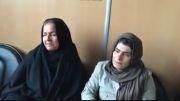 صحبت های خانم رضایی هنگام بخشش قاتل فرزندش