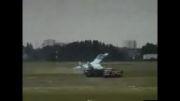 سقوط هواپیمای جنگنده روسی