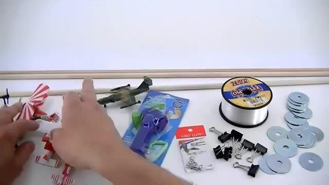 هواپیما اسباب بازی پرنده(Sonic DAD.com)