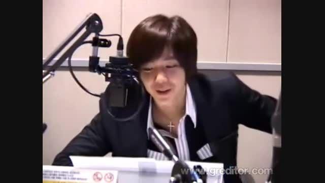جانگ گیون سوک...گوینده رادیو