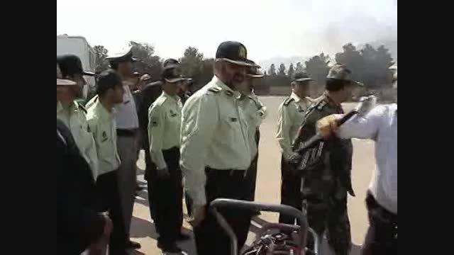 AFT در خدمت یگان ویژه ناجا