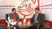 مسئولین باید آستانه تحملشان را در مناظرات بالا ببرند | گفتگو با مهندس باهنر در راهپیمایی 22 بهمن