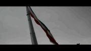 پرچم عظیم 63 متری بر بام ملارد به اهتزاز درآمد