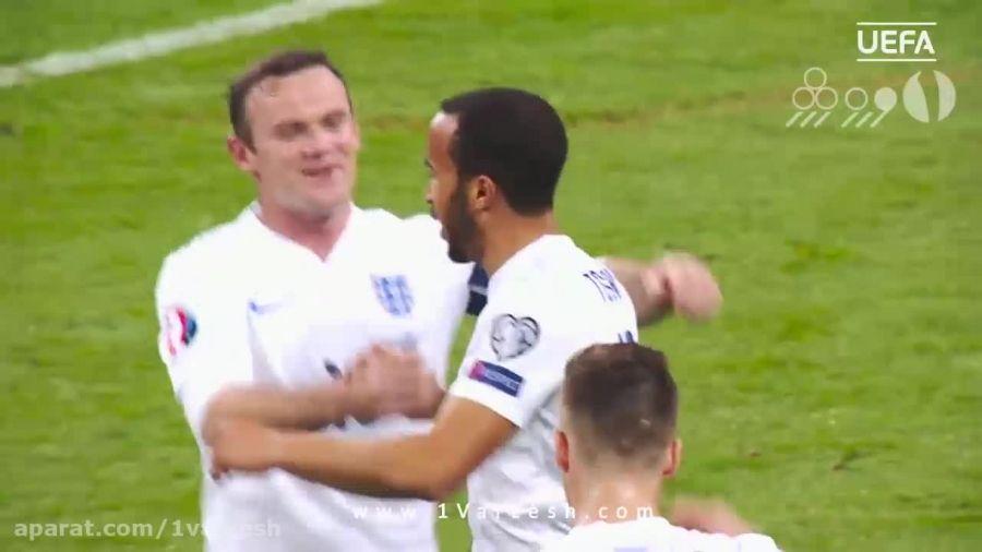 ۵ گل برتر تیم انگلیس در مقدماتی یورو ۲۰۱۶