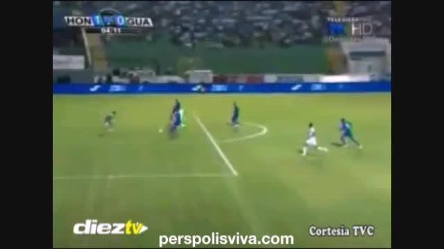گلزنی مهاجم پرسپولیس برای تیم ملی هندوراس