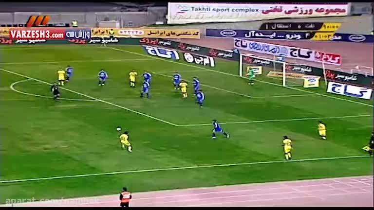 بازی استقلال و نفت 90 دقیقه جام حذفی 4 آذر 94