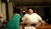 مرد گنده عین نوزاد گریه میکنه!!!