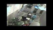 دزد ناشی در بنگاه املاک