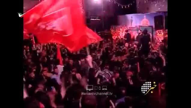 برگزاری مراسم شهدای افغان مدافع حرم در مهدیه تهران