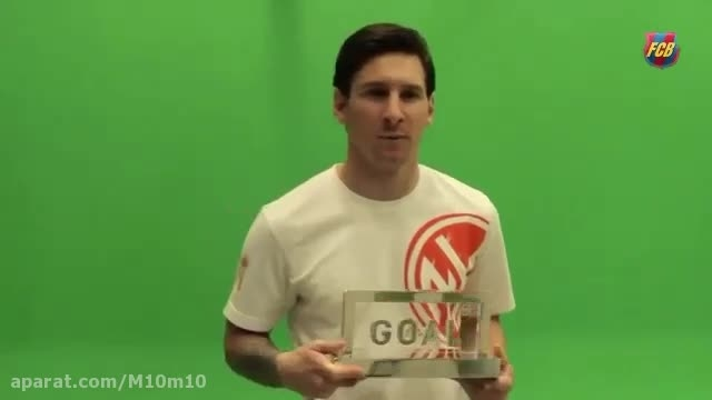 مسی و جایزه بهترین بازیکن جهان از goal