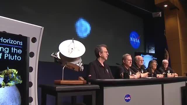کنفرانس ناسا در ماموریت افق های جدید ...
