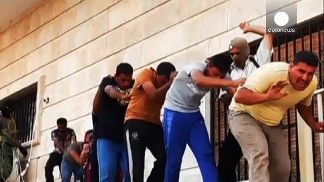 تصاویر دلخراش اعدامهای دسته جمعی صورت گرفته توسط داعش