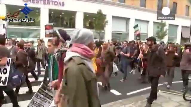 اعتراض دانشجویان در لندن به شهریه زیاد دانشگاه ها