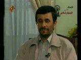 پرسش خبرنگار فرانسوی درباره ی کاپشن احمدی نژاد