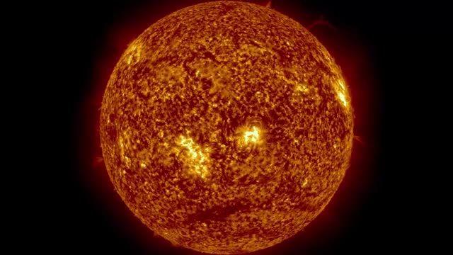 ویدیویی زیبا از خورشید که ناسا منتشر کرده است