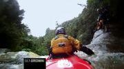 سقوط در رودخانه خروشان با کایاک GOPRO