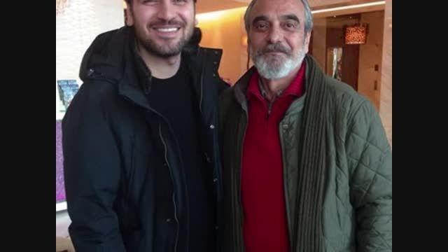 سامی یوسف و بازیگر معروف ایرانی در کنار هم
