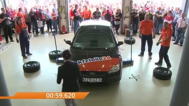 چگونه سریعتر تایر های خودرو را تعویض کنیم