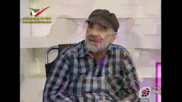 سوتی مهمان برنامه زنده تلویزیون ایران