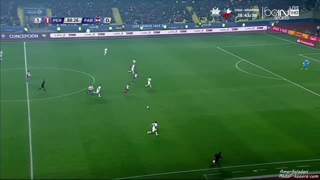 پرو 2 - 0 پاراگوئه (گل پائولو گوئرروHD)از BEIN SPORT