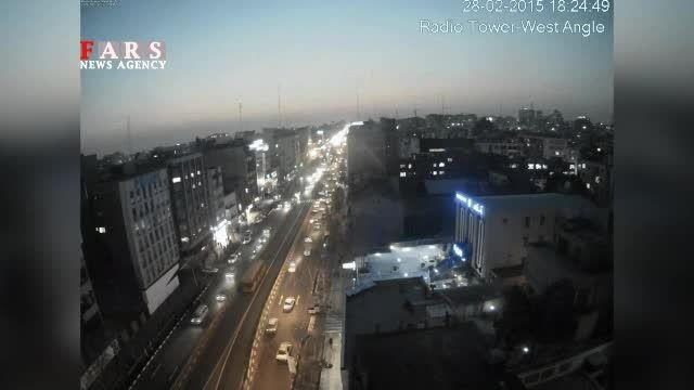 فیلم جدید از پرواز جنگنده در ارتفاع پایین در تهران