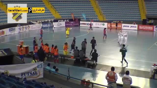 گل های بازی ایران 1-2 کاستاریکا (فوتسال بانوان)