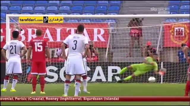 خلاصه بازی جبل الطارق 0-7 آلمان