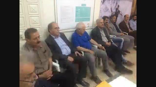 جلسه هماهنگی فدراسیون هندبال با هیئت هندبال استان تهران
