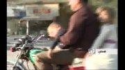 بی احتیاط ترین پدر و خوش خوابترین کودک