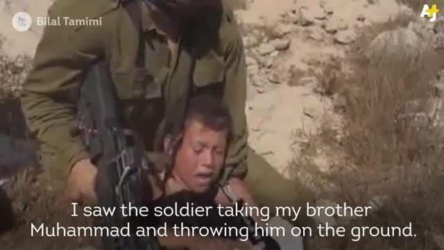 دختر 14 ساله فلسطینی که پا به پای مردان جنگید ....
