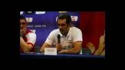 تعریف کردن سعید معروف از مربی تیم ملی والیبال