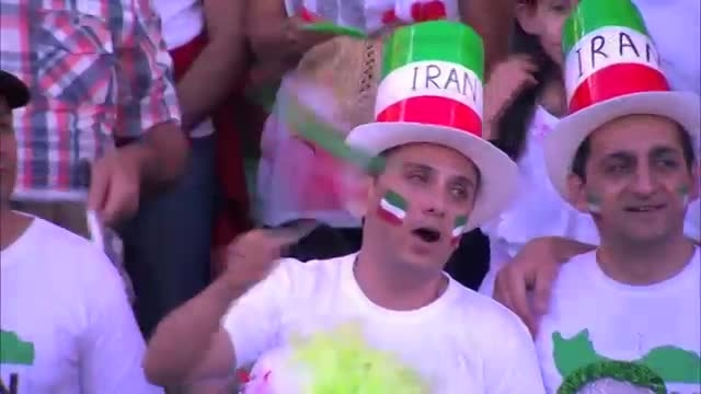 سرود ملی ایران (بازی ایران و بحرین)