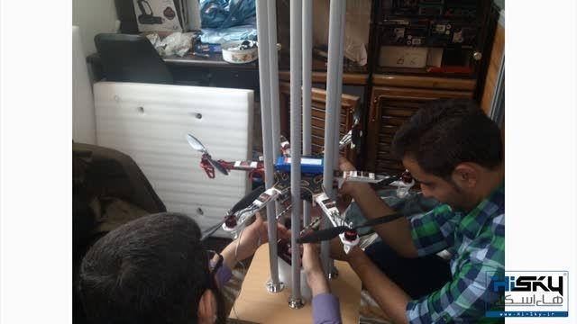 تاریخچه بومی سازی صنعت پهپادهای سمپاش در «های اسکای»