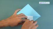 کاردستی با کاغذ کلاه- از سایت کودک سیتی